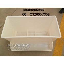 优质白色塑料料箱,抗晒鸭料箱,生产鸭料箱厂家图片