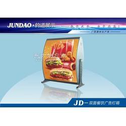 双面餐饮灯箱图片