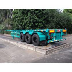 广东明威牌(图),45英尺集装箱半挂车,集装箱半挂车图片