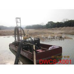 石子比例不超过20的河道水库最常用的采砂船小型抽沙船图片