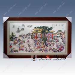 瓷板画定制 定做陶瓷瓷板画图片