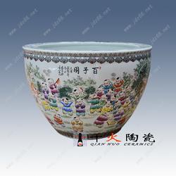 陶瓷大缸 鱼缸 风水缸厂家定制图片