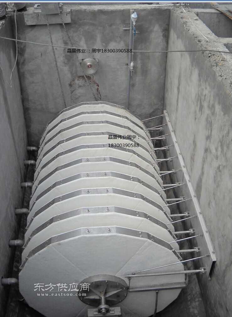 纤维转盘过滤器纤维滤布滤池转盘滤布滤池悬浮物过滤设备批发