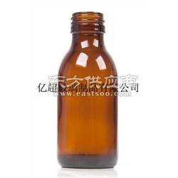 棕色模制药用玻璃瓶图片