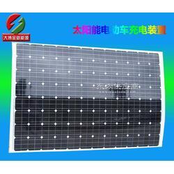 300w单晶太阳能柔性电动车充电器 半柔性太阳能电池板充电器图片