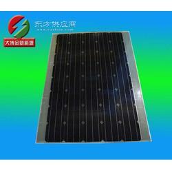 165W 单晶高效A级太阳能电池板/电动车专用轻薄抗震型PT半柔性电池板,单晶光伏组图片
