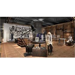 时尚男装展柜厂家-服装展示柜-辉煌品牌图片