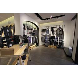 休闲商务男装展柜-时尚服装展示柜-辉煌品牌图片