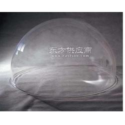 亚克力半球罩 透明防尘罩 展示罩有机玻璃半圆球彩色灯罩二分一球图片