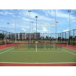 红土网球场地图片