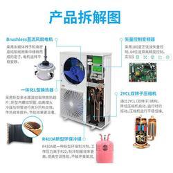 祁格机电实惠-广州志高中央空调安装图片