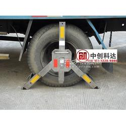 有没有一款车轮锁可以锁大货车的图片