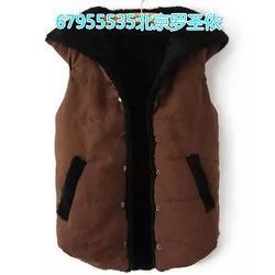 保定北京羽绒马甲定做厂家、劳保棉服(在线咨询)图片