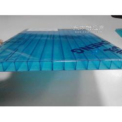 拜耳原料蓝色阳光板蓝色阳光板一平米多少钱图片