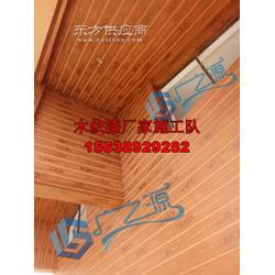 墙面木纹漆,外墙混凝土面水泥柱木纹漆施工,专业施工墙面仿木纹漆的图片