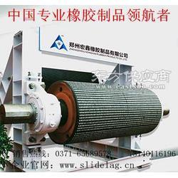 水泥行业耐磨滚筒包胶生产企业图片