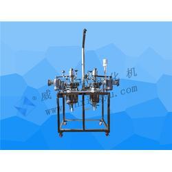 高压加氢反应釜_威海行雨化机(已认证)_河南高压反应釜图片