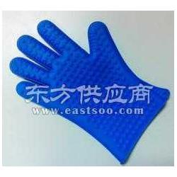硅胶微波炉手套耐高温手套图片