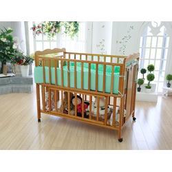 双层可折叠婴儿床,山东婴儿床,鲁君国贸图片