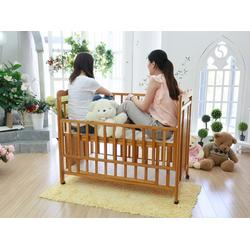 山东婴儿床_鲁君国贸_2014年最新实木婴儿床图片