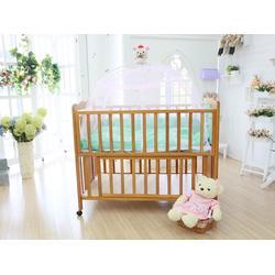 山东实木婴儿床,品牌实木婴儿床的优点,鲁君国贸图片