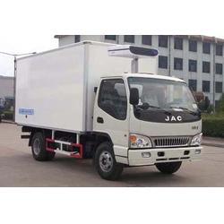 冷藏车,上海紫运,江淮双排座冷藏车图片