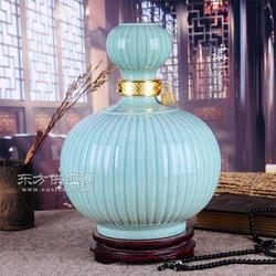 密封陶瓷酒罐加工定做 中国红陶瓷酒罐加工定做图片