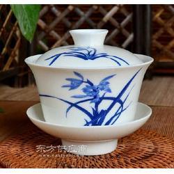 陶瓷盖碗图片