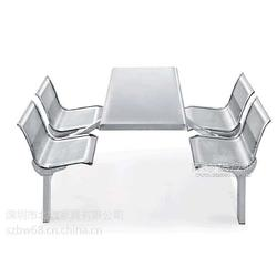 连体餐桌椅cad图片