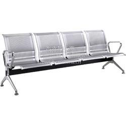 不锈钢机场排椅四人位图片