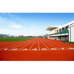 塑胶跑道材料优选厂商、太原塑胶跑道、广州帝森图片