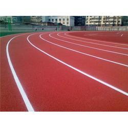 广州帝森 塑胶跑道材料生产加工-益阳塑胶跑道图片