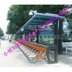 自行车棚制作厂家 公共自行车棚生产商图片