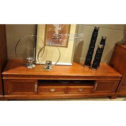 兆冠家居供应中式实木客厅家具实木地柜图片