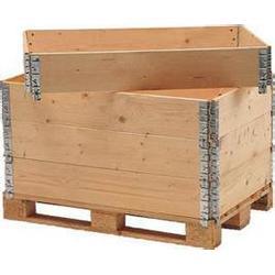 海门 铰链箱厂家,山东三维包装,定做铰链箱厂家图片