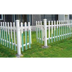 供应pvc围墙护栏 塑钢社区庭院围墙栅栏图片