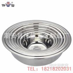 不锈钢无磁汤盆全网最低价带磁无磁礼品赠品汤碗图片