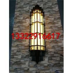 铁艺壁灯厂家定做户外仿云石壁灯别墅壁灯 壁灯产品定制 非标工程灯订做图片