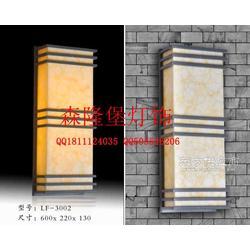 雪花石雕刻图案铁艺壁灯耐用度仿云石壁灯,人造石灯具图片