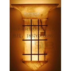 供应新品透光石壁灯室内壁灯 首选森隆堡灯饰图片