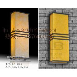 中式复古壁灯 古典书本形状透光石壁灯 人造石壁灯 产品效果示意图图片