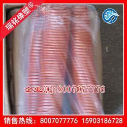 耐高温橡胶管 阻燃通风橡胶管 阻燃耐高温伸缩管图片