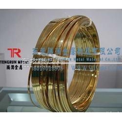 压扁H62黄铜扁线厂家图片