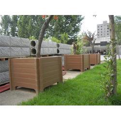 混泥土仿木花箱|艺术园林(在线咨询)|清苑仿木花箱图片