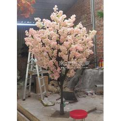 仿真樱花树桃花树 假樱花树定制 仿真植物 新年仿真樱花树装饰图片