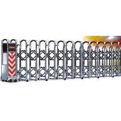 电动伸缩门、不锈钢电动伸缩门安装、临朐宝龙门业(推荐商家)图片