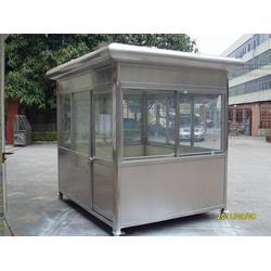 不锈钢岗亭、青州不锈钢岗亭、宝龙门业图片