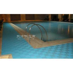 香格里拉酒店泳池铺设地垫对比图图片