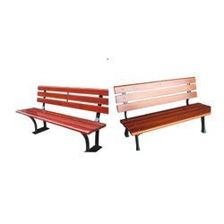 塑木休闲椅 可定制量大从优 进口山樟木园林椅图片
