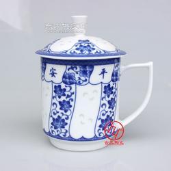 生产陶瓷水杯厂图片